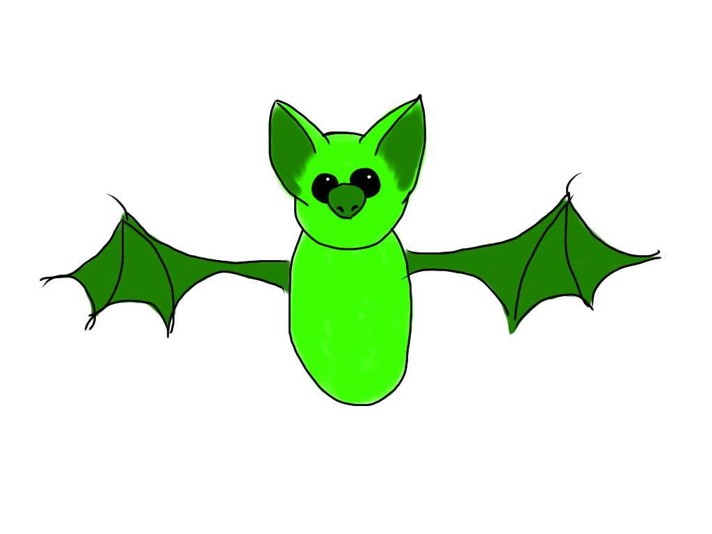 green bat occasional wombat