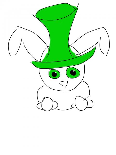 Green & cute