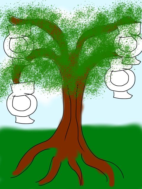 toiletree